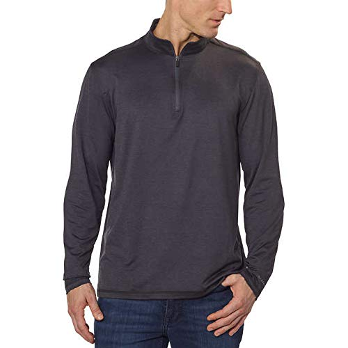G.H. Bass & Co. Men's ¼ Zip Pullover, Variety (XL, Grey) from G.H. Bass & Co.