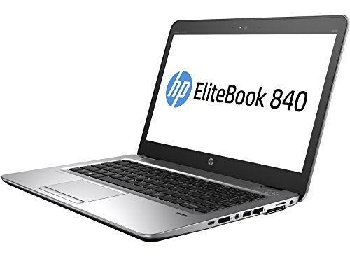 HP EliteBook 840 G1 14 Inch Business Laptop Computer (Intel Dual Core i7 2.1GHz Processor, 8GB RAM, 240GB SSD, USB 3.0, VGA, Wifi, RJ45, Windows 10 Professional) (Certified Refurbished)
