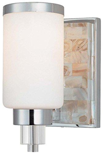 Minka Lavery 3241-77 1 Light Bath Lighting, Chrome - At Beach Way The Broad