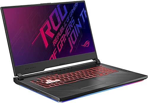 "Asus ROG Strix G Gaming Laptop, 17.3"" 120Hz IPS Type FHD, NVIDIA GeForce GTX 1650, Intel 6-Core i7-9750H, Backlit RGB KB, 802.11 ac, Bluetooth, Windows 10 Home + CUE Accessories (16GB DDR4, 512GB SSD)"