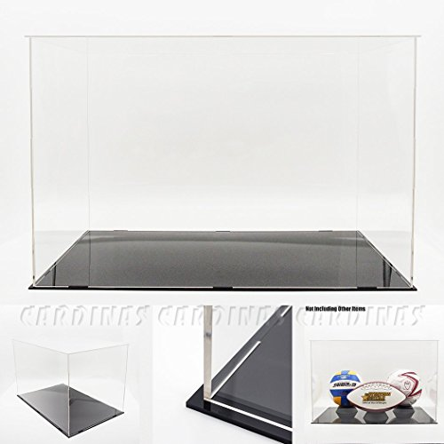"Odoria Clear UV Acrylic Self-Assembly Display Box Case 22""L Super Big Size Large Models Collections Display Dustproof Protection"