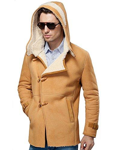 Suede Merino Shearling Jacket - 5