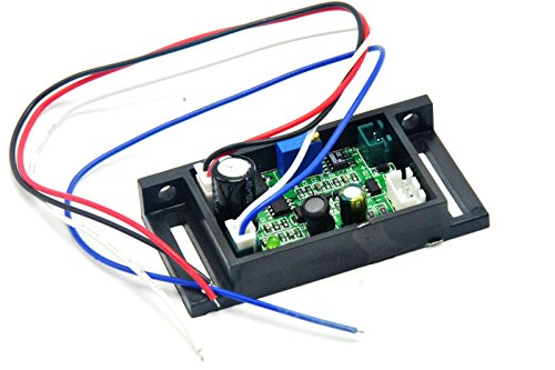 12V Power Supply Driver Board for 405nm 50mw-200mw Violet/Blue Laser Module with TTL