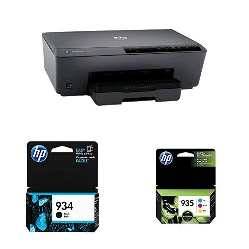 HP OfficeJet Pro 6230 Wireless Printer with Mobile Printing, HP Instant Ink & Amazon Dash Replenishment ready (E3E03A) with Std Ink Bundle