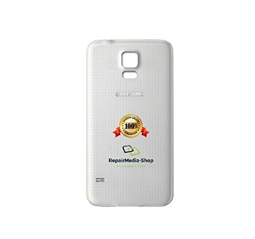 Carcasa Trasera para Samsung Galaxy S5, color blanco: Amazon ...
