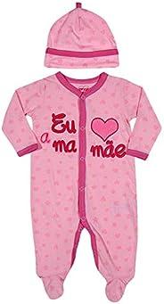 TipTop Macacão Mamae Rosa, P
