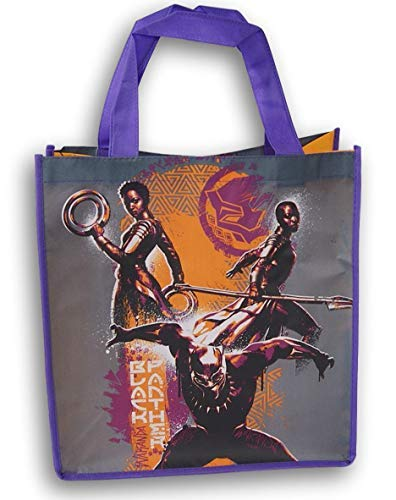 The Black Panther Marvel Tote Bag - 13 x 13 Inch