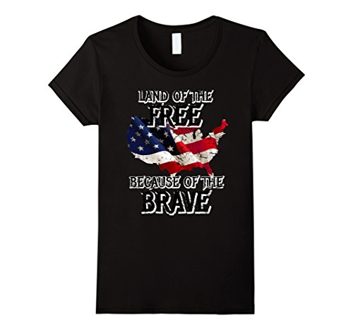 Womens Land of the Free Because of the