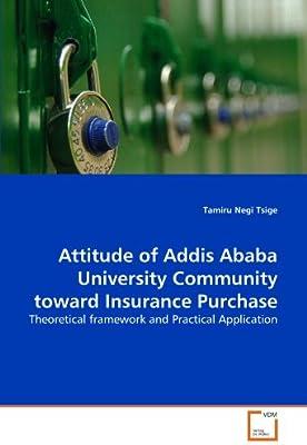 Attitude of Addis Ababa University Community Toward