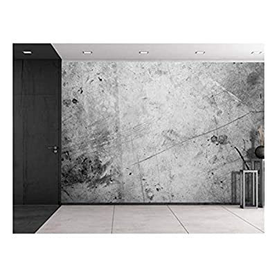Gray and Black Splattered Painted Wall Wall Mural...