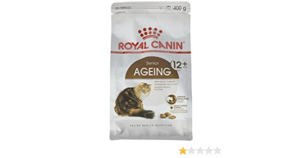 Amazon.com : Royal Canin Ageing Cat Food 400 G For Age 12 Years Plus : Pet Supplies