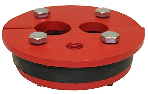 (Merrill MFG WS622510 Cast Iron Well Series, Double Drop Pipe, Split Top Plate, 6