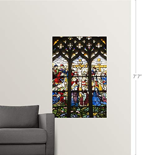 Amazon.com: GREATBIGCANVAS Poster Print Entitled Stained ...