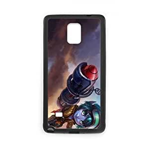Samsung Galaxy Note 4 Cell Phone Case Black League of Legends Rocket Girl Tristana OIW0398428