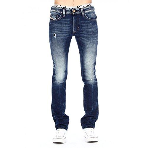 Mens Diesel Thavar 0885W Straight Leg Jeans (30Wx32L)