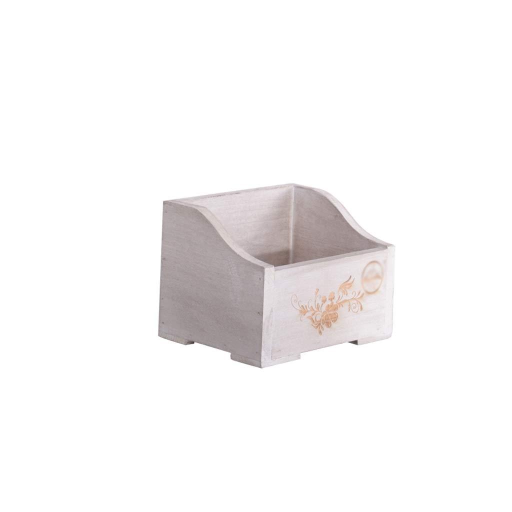 KGMYGS Rack di Stoccaggio Vasi Piante di Fiori Davanzale Piccola Mensola in Legno può Essere Sospeso Blu Giallo Bianco Stand di Fiori (colore   Bianca)