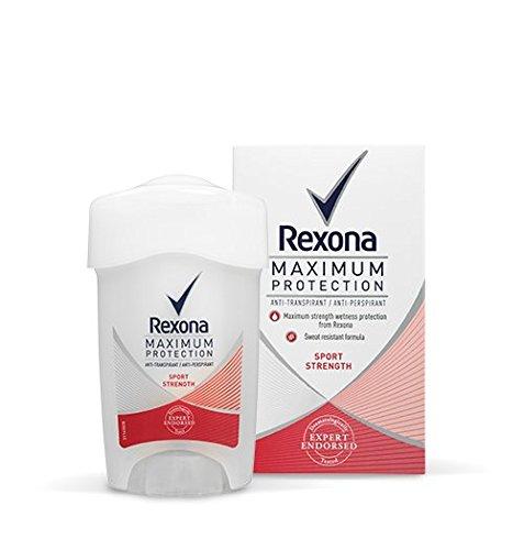 Rexona Maximum Protection Sport Strength Anti-Perspirant Cream 45 ml / 1.5 fl oz