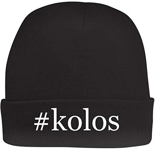 Shirt Me Up #Kolos - A Nice Hashtag Beanie Cap, Black, - Newbury Album Kolo