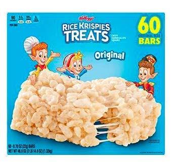 Kellogg's Rice Krispies Treats, 60 ct./0.78 oz. by Kellogs Rice Krispies Treats