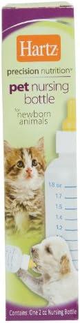 Hartz Mamadeira de amamentação para animais recém-nascidos