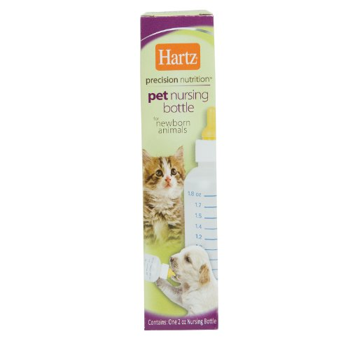 Hartz Pet Nursing Bottle for Newborn Animals