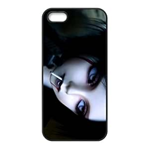 iPhone 5 5s Cell Phone Case Black Vampire O6661639