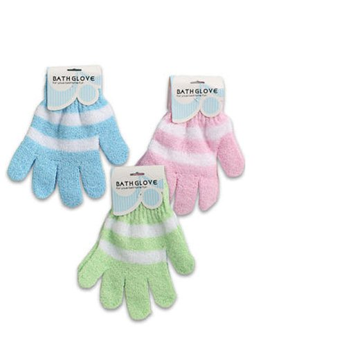 Exfoliating Gloves Shower Replace Loofah