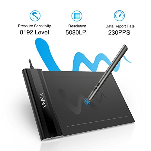 VEIKK S640 OSU! Tablet Ultrathin Graphic Drawing Tablet 6x4 Inch