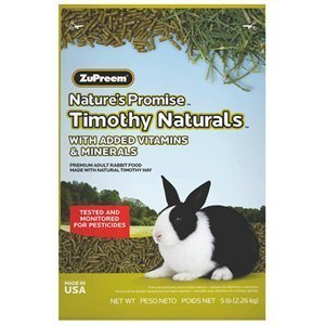 - NATURE S PROMISE TIMOTHY NATURALS RABBIT FOOD