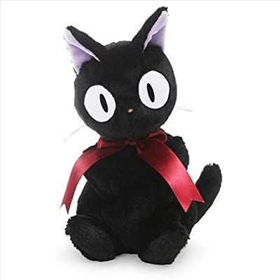 "GUND Studio Ghibli 30th Anniversary Jiji Cat Stuffed Animal, Black, 8"": Toys & Games"