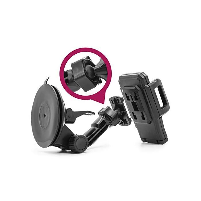 41GjUIODdXL Haz clic aquí para comprobar si este producto es compatible con tu modelo Forma sólida, alta calidad – espuma pinza Bake – vibración tenue sistema de fijación Estable y seguro de poner – versátil fijación con tornillo de bloqueo