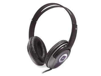 NGS VOX220DJ Binaural auricular con micrófono - Auriculares con micrófono (Binaural, Alámbrico, 2