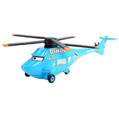 [해외]Disney Cars Disney Pixar Car2 & Car3 95# Helicopter DINOCO Mama Francesco Bernoulli Metal Diecast Toy Car 1:55 Loose in Stock 5 / Disney Cars Disney Pixar Car2 & Car3 95# Helicopter DINOCO Mama Francesco Bernoulli Metal Diecast Toy...