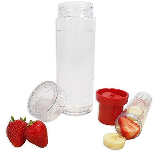 Infuser Water Bottle Bpa Free Leak Proof Add Your