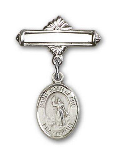 Icecarats Créatrice De Bijoux En Argent Sterling St. Joan De La Broche De Badge Charme Arc 1 X 5/8