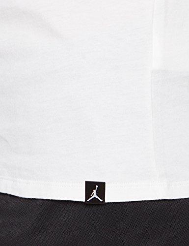 Nike Hombres Jsw Tee Iconic Jumpman Blanco / Universidad Rojo