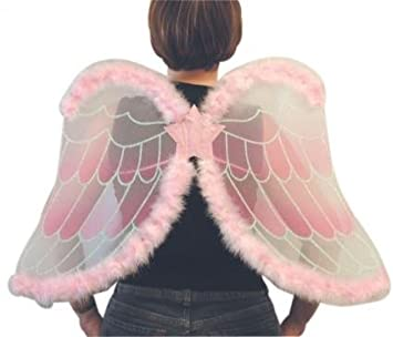 Costume Accessories Deluxe Pink Angel Set Wings And Halo  sc 1 st  Amazon UK & Costume Accessories Deluxe Pink Angel Set Wings And Halo: Amazon.co ...