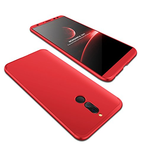 Slim Huawei Mate 10 Lite Case, BZCTAH Luxury 3 in 1 Design Hard PC Plastic Case, 360° Removable Full Protection Anti-scratch Bumper Back Cover Shell ...