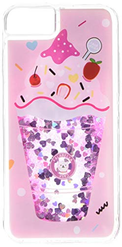 KampoStore Compatible with iPhone 8 and iPhone 7 Glitter Bling Ice Cream Case Cover Anti-Scratch Shock Absorption Cover Case for The iPhone 8 and iPhone 7 ()