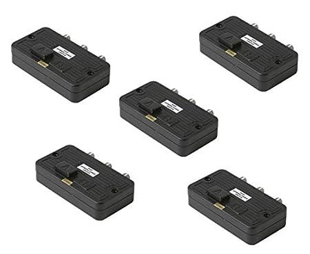 C&E CNE55733 2-Way Coaxial A/B Switch Push-Button 75/75/75