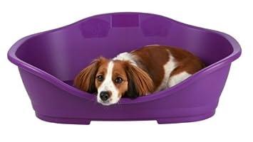 Perro de dormir cama de plástico, tamaño 2: 56/68 cm, plástico