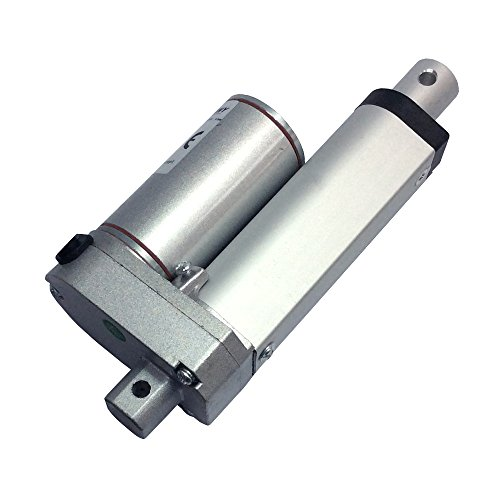 BEMONOC Stroke 50mm 2 Inch 12 Volt Mini Linear Actuator Motor 100N High Speed 50mm/s by Linear Actuator