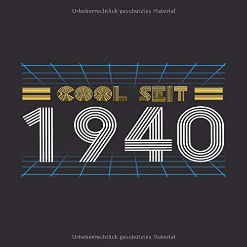 Amazon Com Cool Seit 1940 Cooles Geschenk Zum 79 Geburtstag