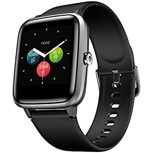 Noise ColorFit Pro 2 Smart Watch with Full Touch Control, 1.3″ Color Display, 10 Day Battery, 24×7 Heart Rate Monitoring, IP68 Waterproof, 9 Sports Mode (Jet Black)