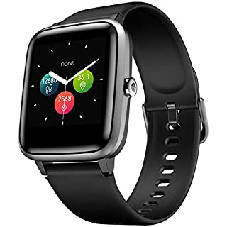 41GjZIqVYRL. SS320 Noise Colorfit Pro 2 Full Touch Control Smart Watch Jet Black