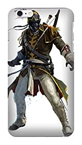 custom fashionable New Style Popular Assassin's Creed phone accessory TPU phone case with cool designed for iphone 6 Plus