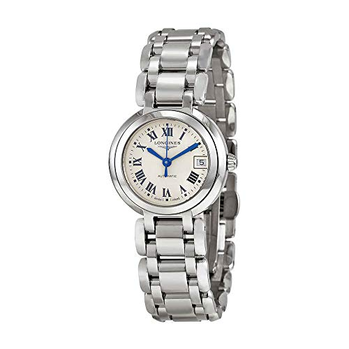 Longines PrimaLuna Silver Dial Stainless Steel Ladies Watch L81114716