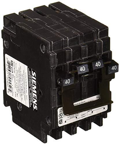 - Siemens US2 Q24040CT2NC 40/40A 120/240V 4P 10K New Quad, Black