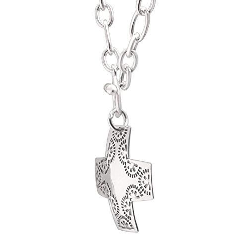 Silpada Sterling Silver Cross Pendant, 17""