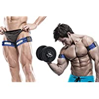 Occlusion Training Bands ® by BFR Bands ®, PRO Model, 2 Pack, Blood Flow Restriction Bands Help You Gain Muscle without…